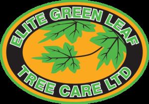 Elite Green Leaf Tree Care logo.